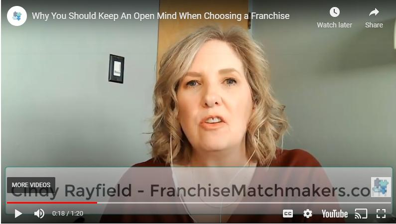 Cindy Rayfield buying franchise video